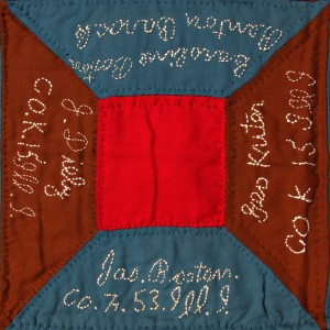 Civil War Quilt Block 35C J. Boston